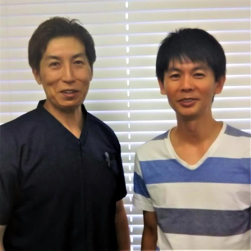 篠崎氏と私